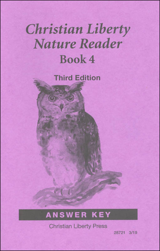 Nature Reader Book 4 Answer Key Third Edition
