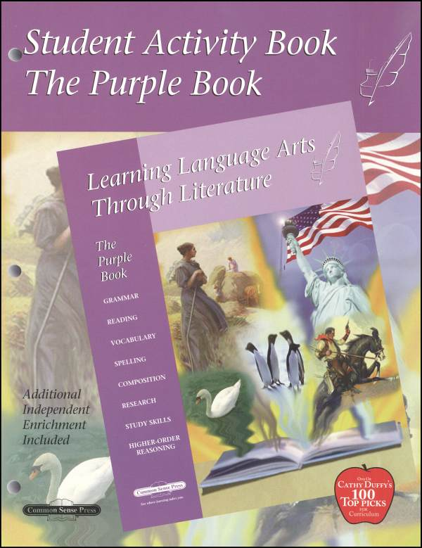 Learning Language Arts Through Literature Purple Student Book