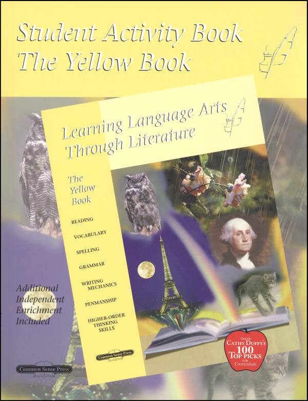 Learning Language Arts Through Literature Yellow Student Book