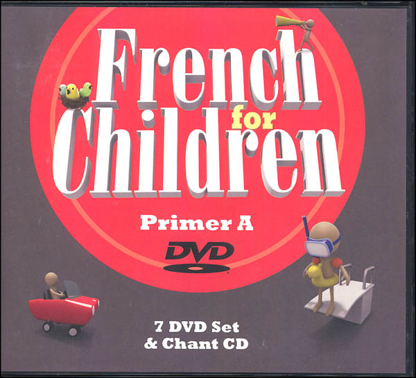 French for Children Primer A DVD & CD Set
