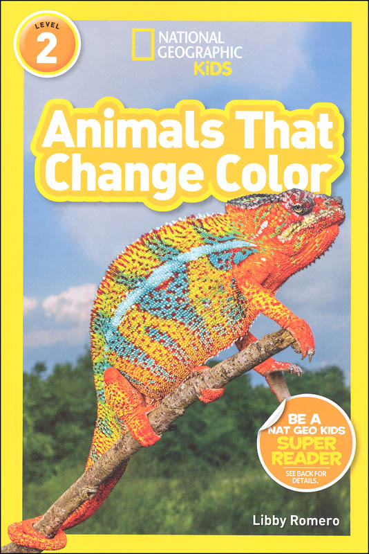 Animals That Change Color (National Geographic Readers Level 2)