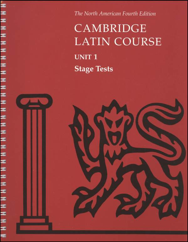 Cambridge Latin Course Unit 1 Stage Tests