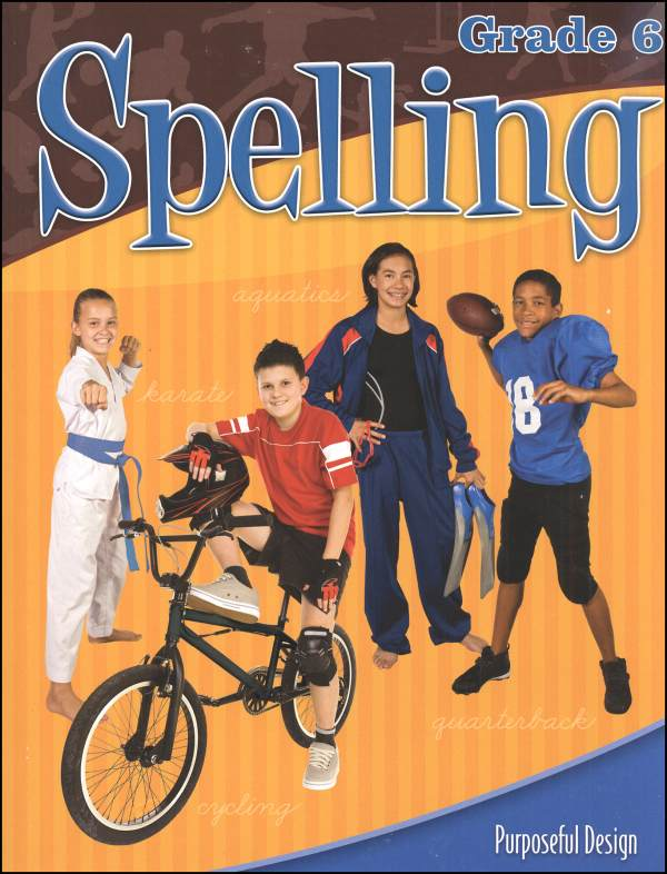 ACSI Spelling 6 Worktext (revised edition)