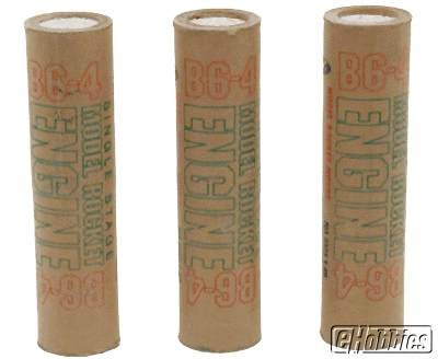 B6-4 Rocket Engines 3-Pack
