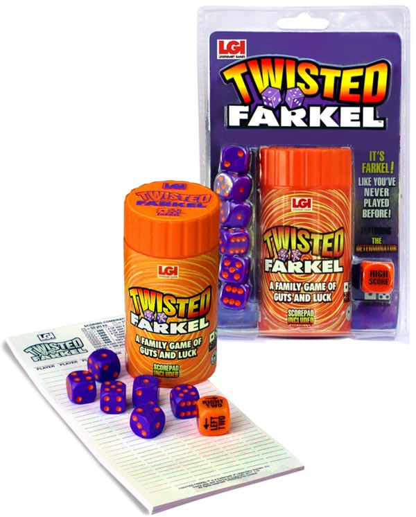 Twisted Farkel Dice Game