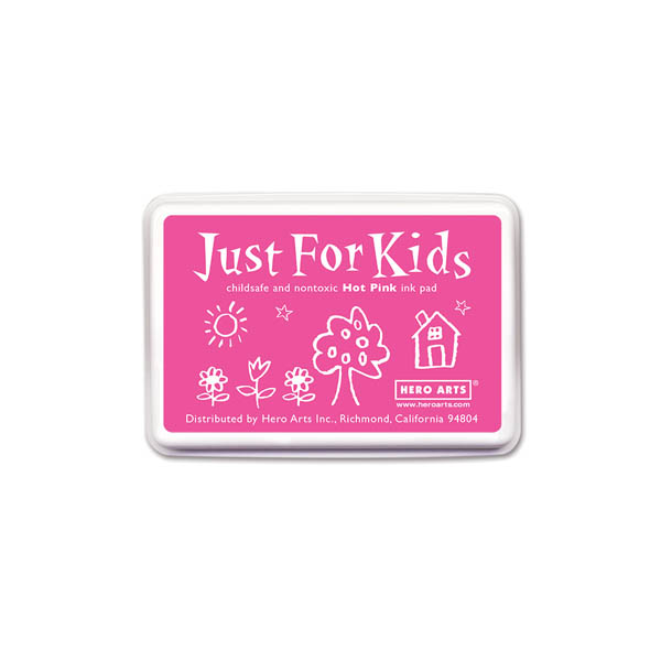 Hot Pink Just for Kids Ink Pad