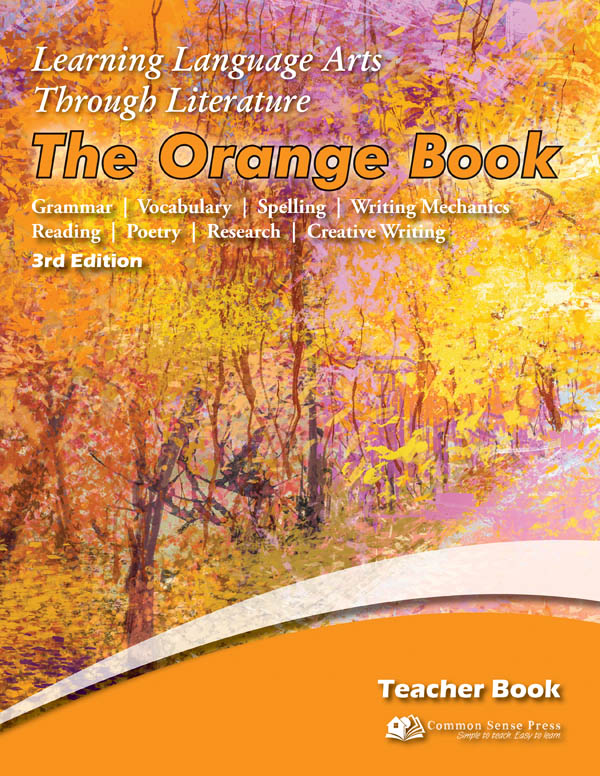 Learning Language Arts Through Literature Orange Teacher Book (3rd Edition)