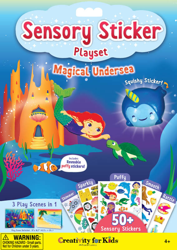 Sensory Sticker Playset - Magical Undersea Adventures