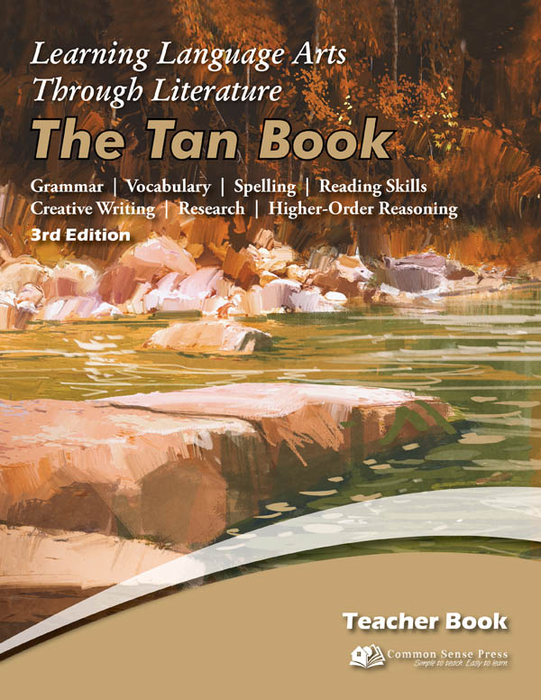 Learning Language Arts Through Literature Tan Teacher Book (3rd Edition)