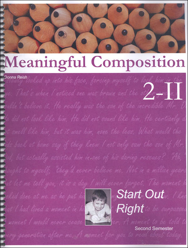 Meaningful Composition 2 (II): Keep It Up