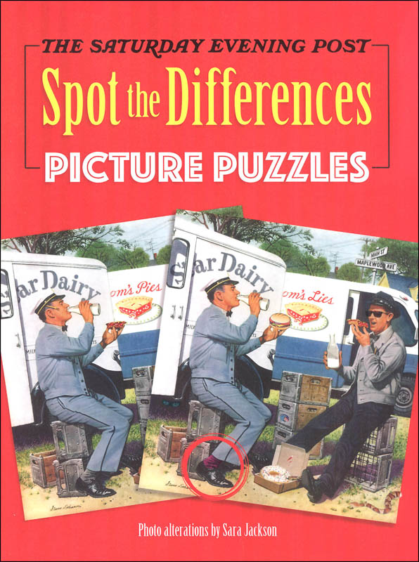 Saturday Evening Post Spot the Difference Picture Puzzles