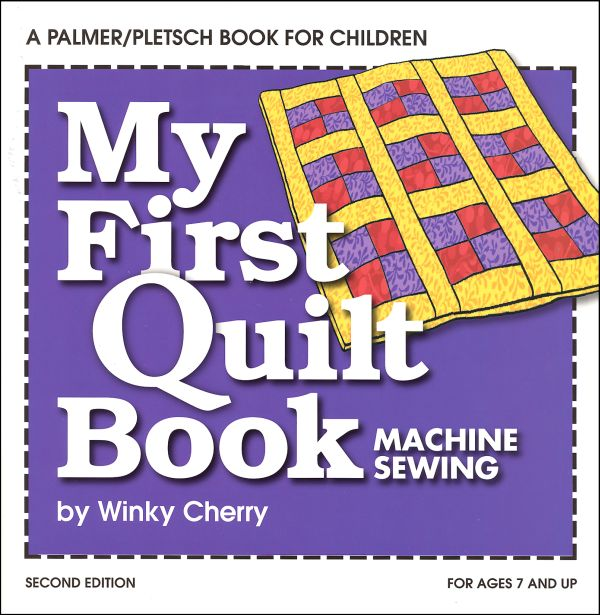 My First Quilt Book & Kit
