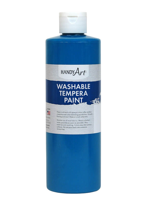 Turquoise Washable Tempera Paint