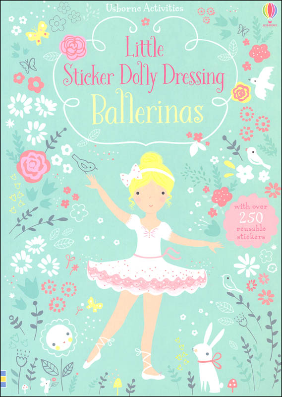 Little Sticker Dolly Dressing - Ballerinas