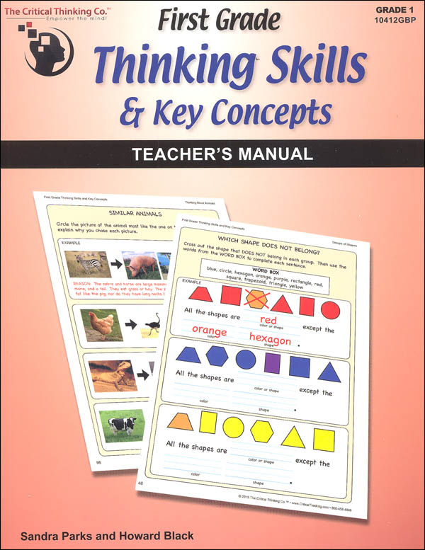 First Grade Thinking Skills & Key Concepts Teacher's Manual