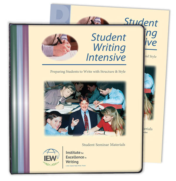Student Writing Intensive B Student Materials (2015 Edition)