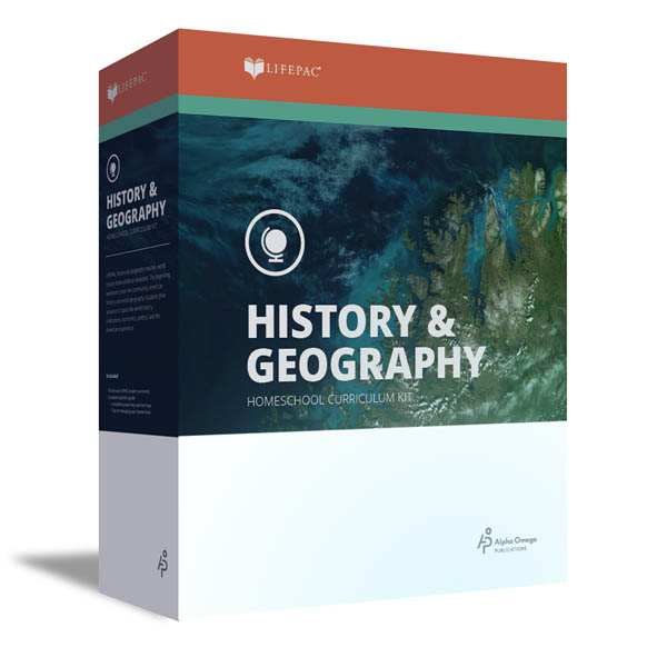 History 12 Lifepac Complete Boxed Set