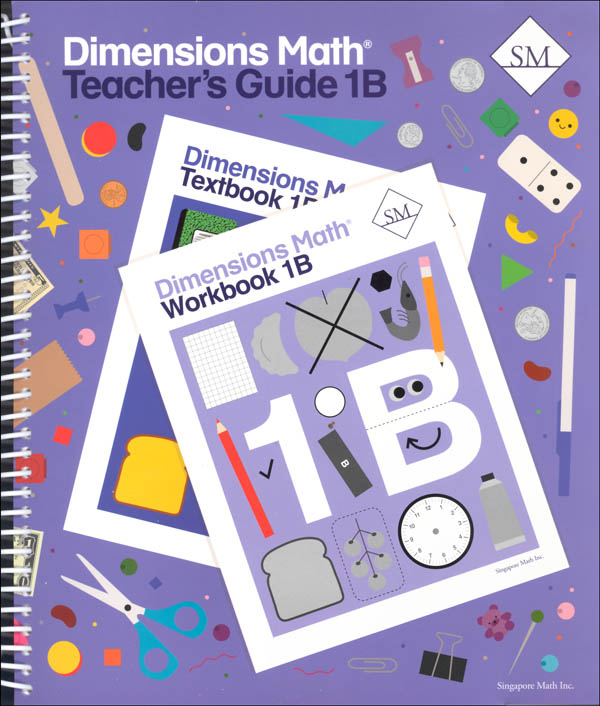 Dimensions Math Teacher's Guide 1B