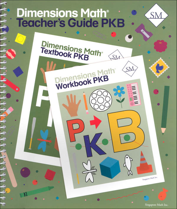 Dimensions Math Teacher's Guide PreK B