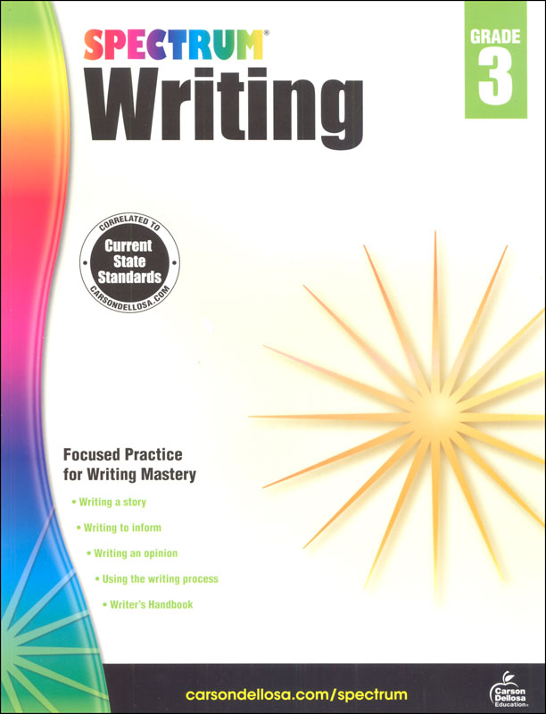 Spectrum Writing 2015 Grade 3
