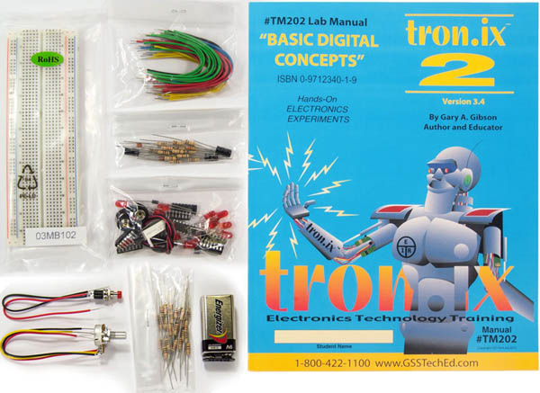 Fundamentals of Electronics Tronix 2 Lab Manual and Kit