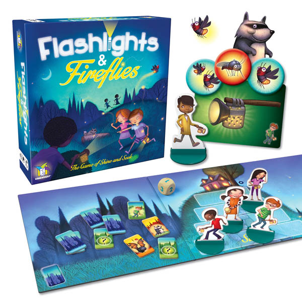 Flashlights & Fireflies Game