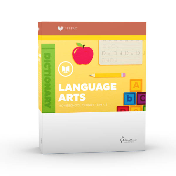 Language Arts Grade 2 LIFEPAC Complete Boxed Set