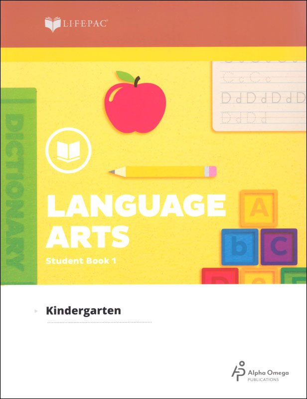 Language Arts K Workbook One