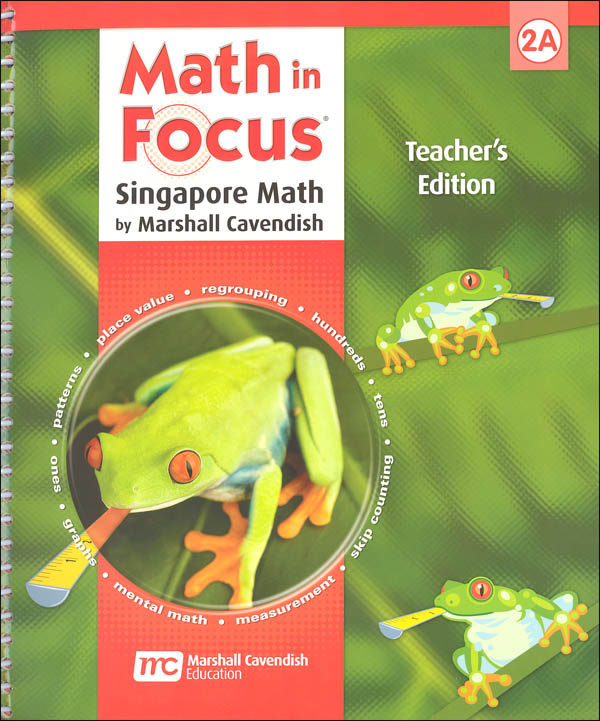 Math in Focus Grade 2 Teachers Edition Book A 1st Semester