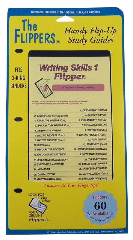 Writing Skills Flipper