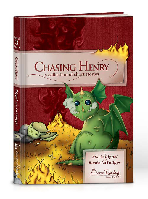 Chasing Henry: Collection Short Stories (Level 3) (black & white)