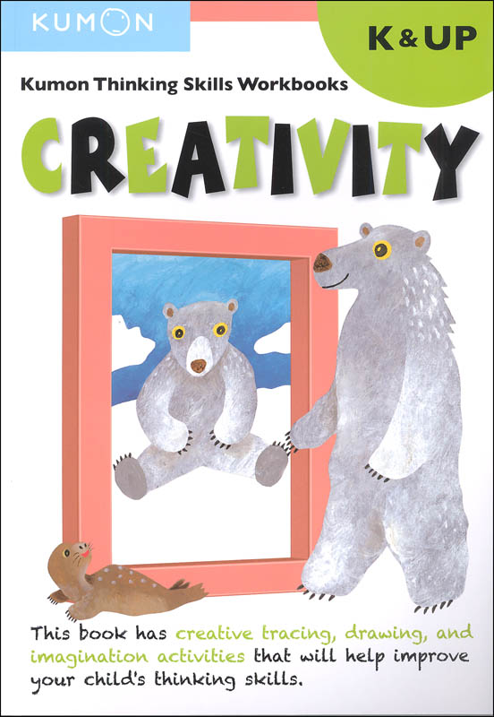 Kumon Thinking Skills Workbook - Creativity (Kindergarten & Up)