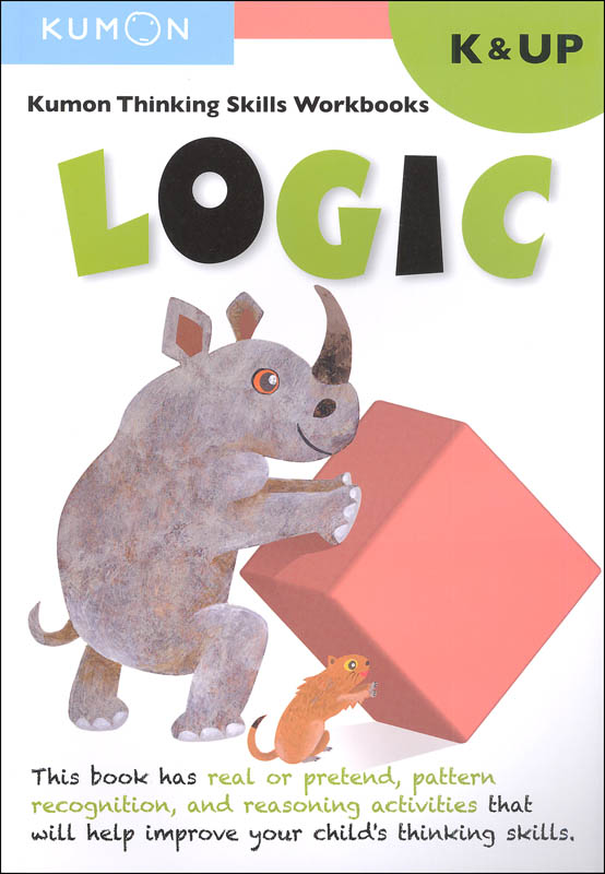 Kumon Thinking Skills Workbook - Logic (Kindergarten & Up)