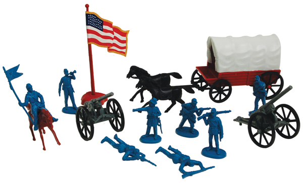 American Civil War Cavalry Set