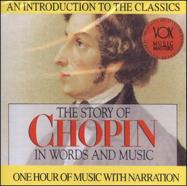 Story of Chopin in Words and Music CD