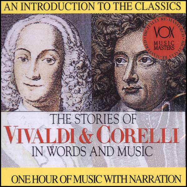 Stories of Vivaldi & Corelli In Words & Music CD