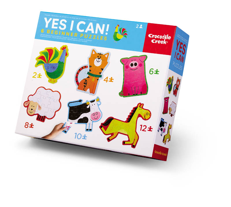 Yes I Can! 6 Beginner Puzzles - Barnyard
