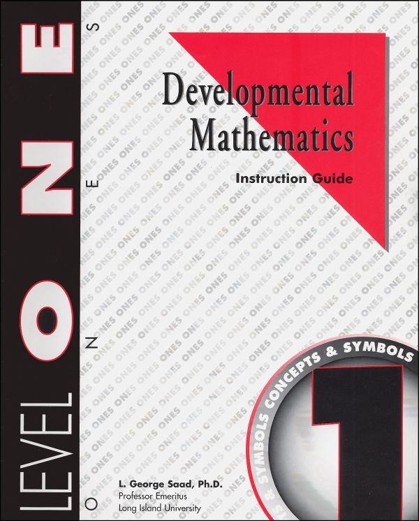 Developmental Math Level 1 Instruction Guide