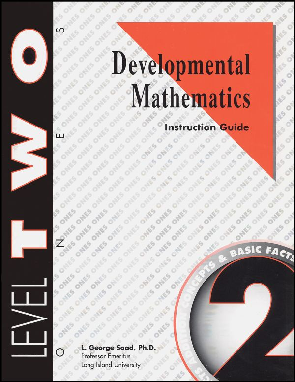 Developmental Math Level 2 Instruction Guide