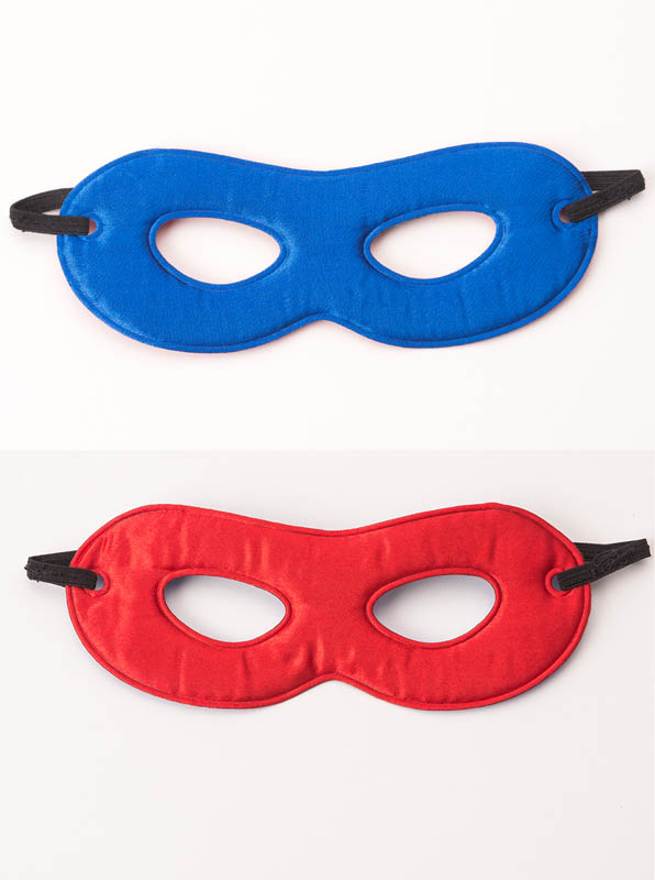 Hero Mask Red/Blue