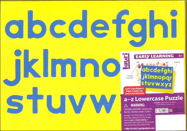 Lauri A to Z Lower Case Puzzle