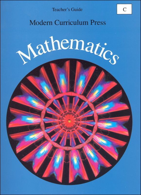 MCP Math Level C Teacher's Guide 1994