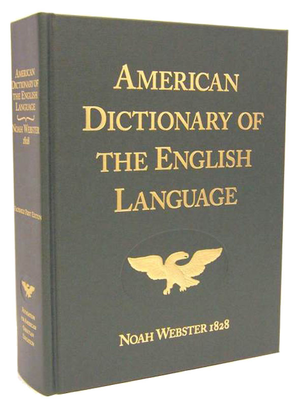 Webster's 1828 Dictionary of English Language