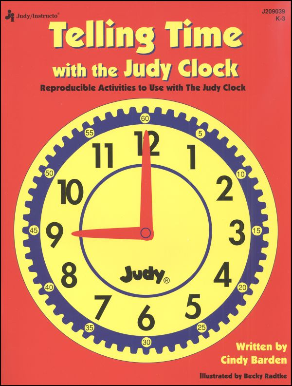 Telling Time with Judy Clocks