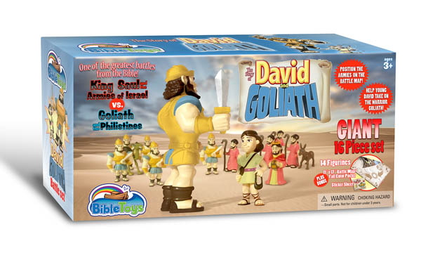 David & Goliath Battle Set