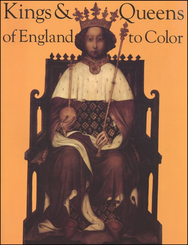 Kings and Queens of England to Color