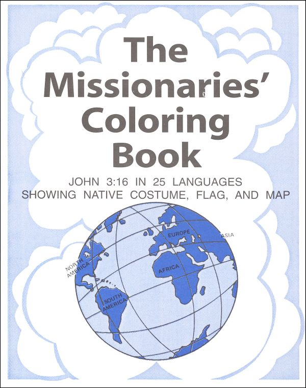 Missionaries Coloring Book
