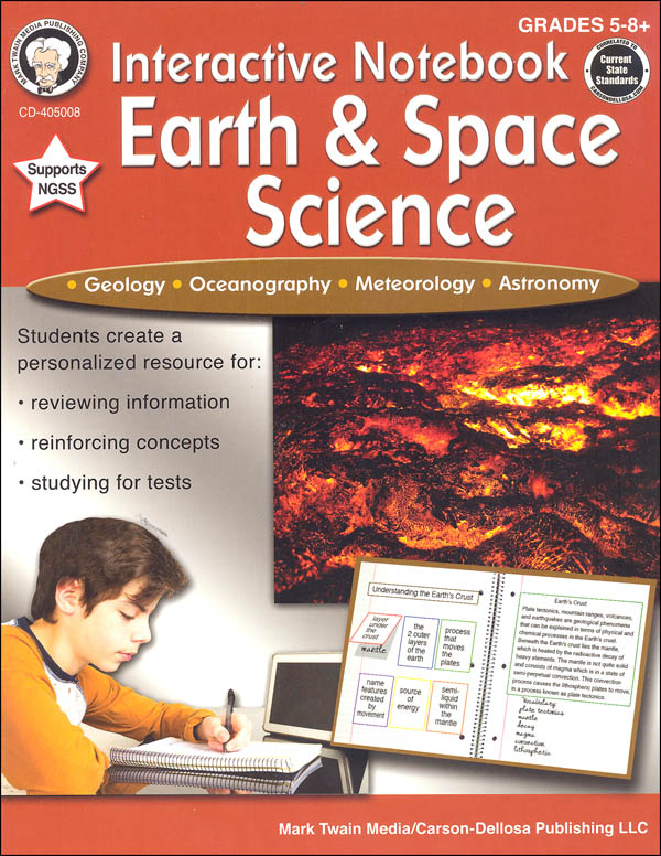 Interactive Notebook: Earth & Space Science