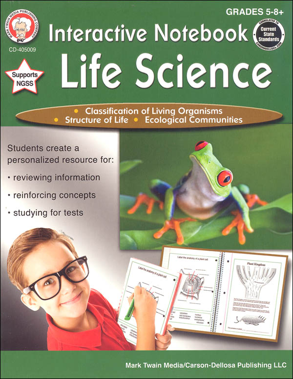 Interactive Notebook: Life Science