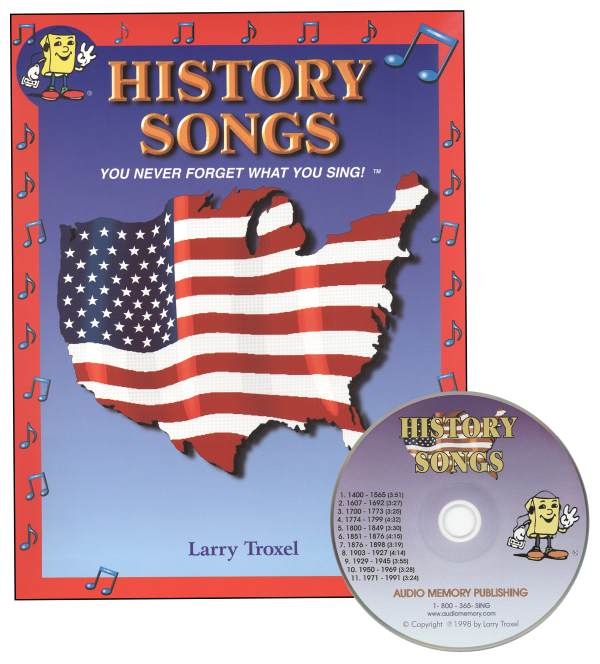 History Songs Kit w/ CD